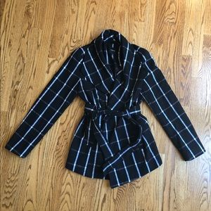 Women's Rampage black and white coat size Small